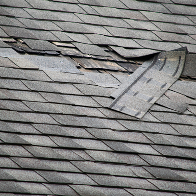 A damaged roof can cause water to leak into your home