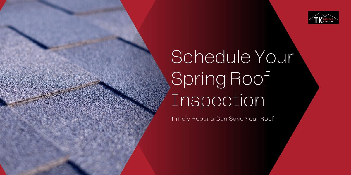 Springtime roof inspections should be performed by certified roofers
