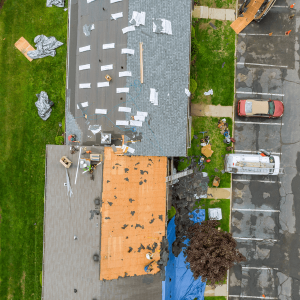 local roof repair companies, like TK Roofing can help you with your roof replacement