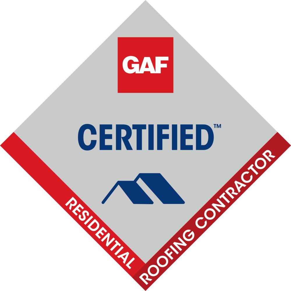 GAF CERTIFIED Roofer
